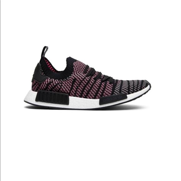 uk availability 7216a 814bd Men's Adidas NMD R1 STLT Solar Pink Size 11.5 NWT